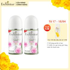 [16.4 QUÀ NGẪU NHIÊN đơn 129K] Combo 2 Lăn khử mùi trắng da Enchanteur Romantic 50ml/ Chai