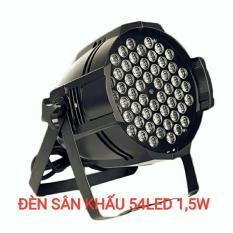 Đèn led sân khấu vũ trường Flat Par Light 54 Led1,5w Full màu cảm ứng âm thanh