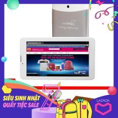 Máy tính bảng cutePad M7022 wifi/3G, 7″, 8GB (Trắng bạc) + Bao da Nâu – Hãng phân phối chính thức