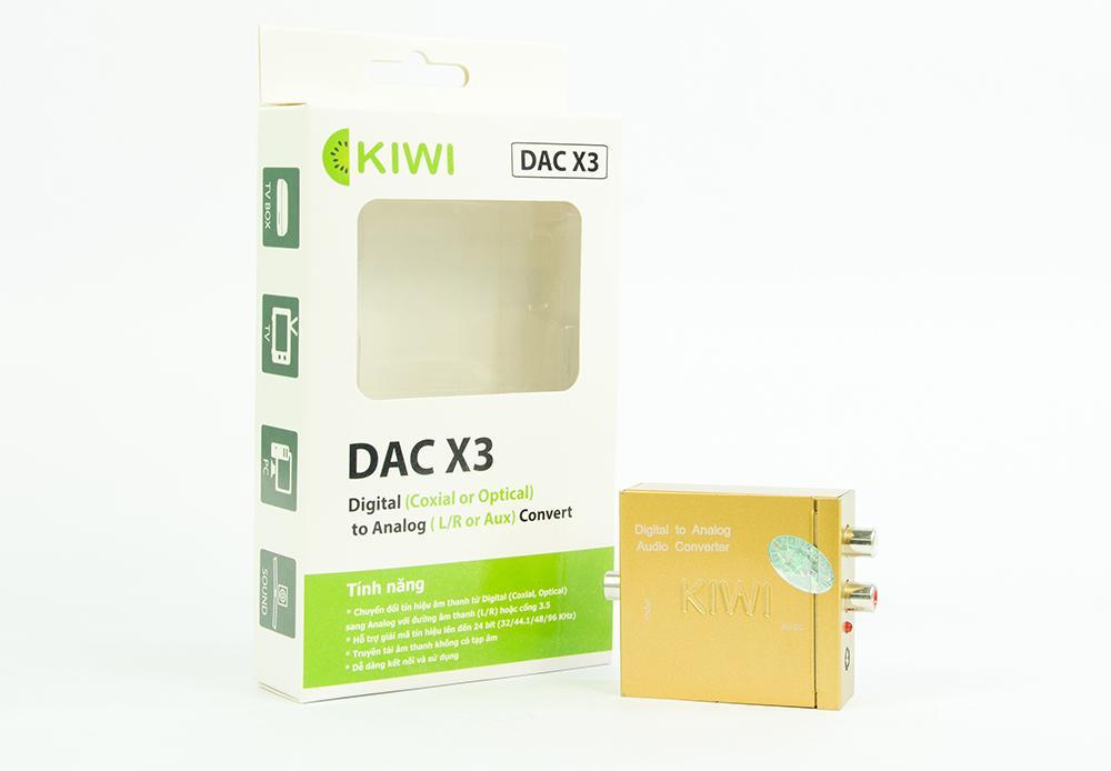 Bộ chuyển đổi âm thanh từ Optical sang Analog Kiwi DAC X3
