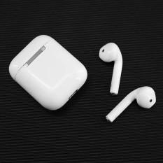 Tai Nghe Bluetooth Không Dây i12 TWS 5.0 Âm Thanh Nổi, Pin Bền Dành Cho Điện Thoại Apple và Andro