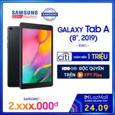 [VOUCHER 200K – 24.09] Máy tính bảng Galaxy Tab A SM-T295 32GB (2GB RAM) 2019 Đen – Màn hình 8 inch, tỷ lệ 16:10 Full HD + Trọng lượng chỉ 347g mỏng nhẹ + Hỗ trợ thẻ nhớ đến 512GB + Pin 5100 mAh – Hàng phân phối chính hãng.