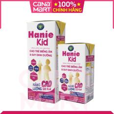 [Thùng 48H x 110ml] Sữa pha sẵn Nutricare Hanie Kid dinh dưỡng cho trẻ biếng ăn, suy dinh dưỡng giúp bé tăng cân, phát triển toàn diện