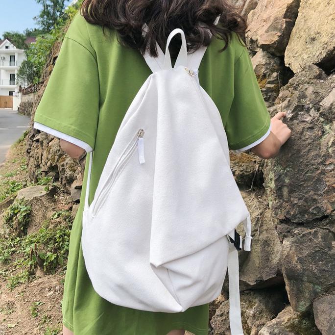 Balo thời trang độc đáo Vạt Tam Giác – Unisex cá tính, đi học, đi chơi xa