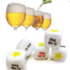 Siêu Hot – ComBo 2 Xí Ngầu uống bia ăn nhậu chất liệu sáng bóng màu in sắc nét rõ ràng