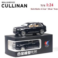 Xe mô hình Rolls Royce Cullinan tỉ lệ 1:24 hợp kim cao cấp tinh xảo như xe thật sơn tĩnh điện sáng bóng