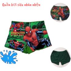 QUẦN BƠI BÉ TRAI HÌNH SIÊU NHÂN NHỆN 12-16kg – chất thun lạnh in 3d -Red Ant Kids