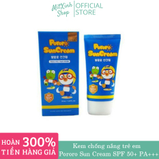 Kem chống nắng Pororo của Hàn Quốc dành cho trẻ sơ sinh và em bé đến 15 tuổi.