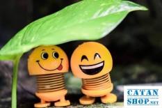 ( Giao hàng ngẫu nhiên) Combo 2 Thú Nhún Emoji Lò Xo Nhiều Hình Siêu Cute – Trang Trí Xe Hơi, Bàn Làm Việc , Học Tập,.. – Con Lắc Lò Xo – Emoji – Đồ Chơi Văn Phòng – Phụ kiện Ô Tô – Đồ Chơi Trẻ Em -thegioisile4