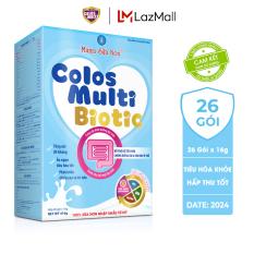 Sữa non Colosmulti Biotic chuyên biệt cho trẻ táo bón và tiêu hóa kém, hộp 26 gói x 16g