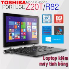 Laptop 2 trong 1 kiêm máy tính bảng Toshiba Portege Z20T/R82 Core M5, 4GB Ram, 256gb SSD, 12.5inch Full HD cảm ứng