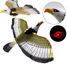 Đồ chơi mô hình chim đại bàng vỗ cánh,có tiếng kêu, dùng pin có đèn nhạc cho bé
