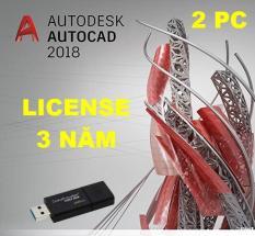AutoCAD 2018 bản quyền 3 năm kèm USB bộ cài