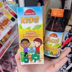 01 Chai Siro Haemo-VIT KIDS Mult Thái Lan 120ml (Ăn Ngon)