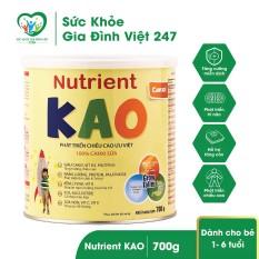 Sữa Nutrient Kao 700g – sữa bột cho trẻ từ 1-6 tuổi