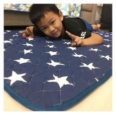 Thảm ngủ điều hòa – Thảm lưới thấm hút mồ hôi tốt , thảm chần gòn 3 lớp size 1*1.8m( thảm chất lượng xuất nhật )