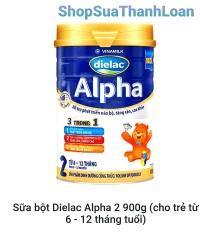 [HSD T12-2022] SỮA BỘT DIELAC ALPHA 2 900G (CHO TRẺ TỪ 6 – 12 THÁNG TUỔI)