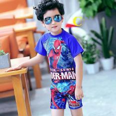 Bộ bơi bé trai siêu nhân cực ngầu mùa hè xinh mát