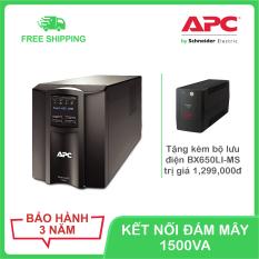 Bộ lưu điện kết nối thông minh APC by Schneider Electric Smart-UPS 1500VA LCD 230V SMT1500IC