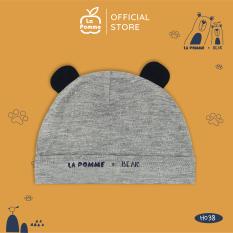 H038 Mũ sơ sinh tai gấu La Pomme