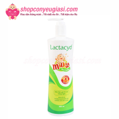 Sữa Tắm Gội Em Bé Lactacyd Milky 500ml