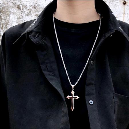 Dây chuyền nam chữ thập- dây chuyền thánh giá nam thánh giá