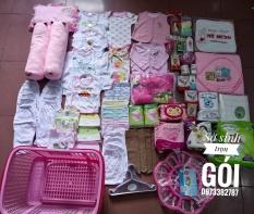 Trọn gói đồ sơ sinh Hotga cho bé trai, bé gái (combo đồ đi sinh đầy đủ có danh sách kèm theo)