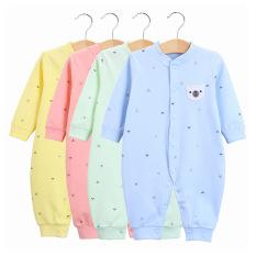 Body liền thân, bodysuit dài tay cotton cho bé trai và bé gái sơ sinh từ 3-13kg, hàng đẹp xuất Hàn-BD24