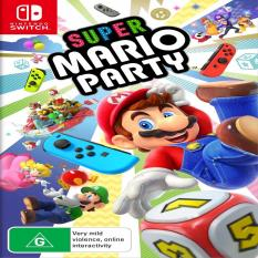 Thẻ Game Switch – Super Mario Party
