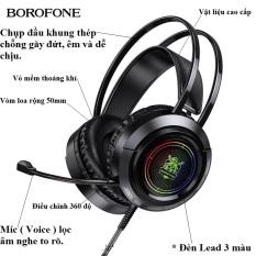 Tai nghe chụp tai có dây chính hãng, Tai nghe chơi game có micro cho game thủ và học online dùng cho máy tính và điện thoại