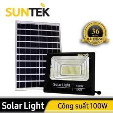 Đèn Năng Lượng Mặt Trời Suntek 100W – STK100W – Bảo hành 36 tháng
