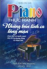 Piano Thực Hành – Những Bản Tình Ca Lãng Mạn