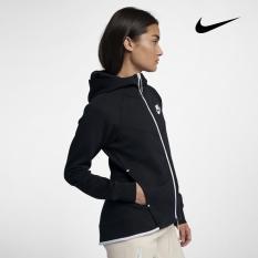 [Premier] Nike – Áo khoác thể thao Nữ AS W NSW TCH FLC WR HOODIE FZ WOMAN 930760 – 011 060619