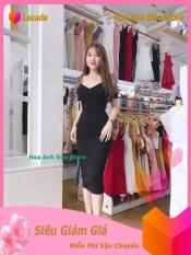 [ Váy Đầm Đẹp ] Đầm Nữ Body Dự Tiệc Tay Phối Lưới Công Sở Thời Trang Hoa Anh Đào Store