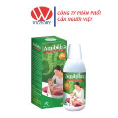 Nước tắm trẻ em Amibebe 250ml – Ngừa rôm sẩy, mụn nhọt, viêm nang lông cho bé – Victory Pharmacy