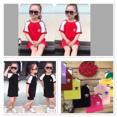 váy xuông cho bé gái 6-18kg, chất cotton 4 chiều mềm mại,thoáng mát fom dáng cực xinh