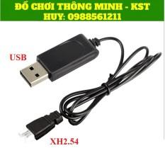 Pin Li-po 3.7V – 1S 300mAh 25C và Dây sạc USB