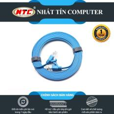 Cáp mạng UTP Cat 6 Dtech 67F50 dài 5m – hỗ trợ tốc độ cao (bảo hành 12 tháng)