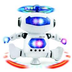 ( XẢ KHO 3 NGÀY ) Robot Biết Nhảy Và Hát Xoay 360 Độ US04019 DOCHOIPC, ( HÀNG CHẤT ) Phát nhạc, Phát sáng và tất cả các lứa tuổi đều chơi được, (DC2548)