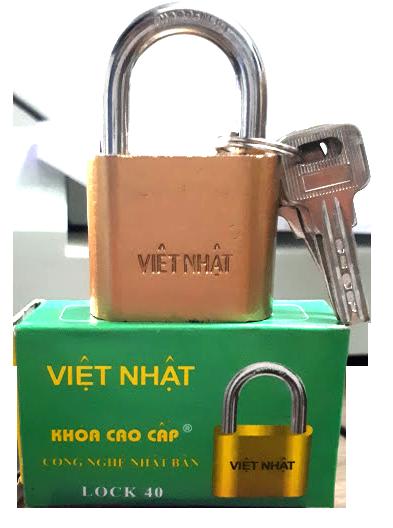 Khóa cửa Việt Nhật các cỡ 30 – 40 – 50 – 60 (công nghệ Nhật Bản)