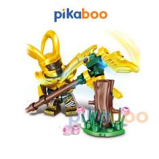 Đồ chơi Xếp hình Liên minh công lý Pikaboo, Bộ lắp ráp 28-33 miếng ghép, chất liệu nhựa bền bóng, chắc khỏe, an toàn