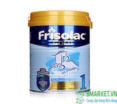 Sữa bột Frisolac Gold 1 400g cho bé từ 0-6 tháng