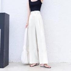 ❤️Quần Culottes Ống Rộng Cạp Cao Hai Cúc❤️-Vải Vitex Cao Cấp-Hàng Thiết Kế Full Size.