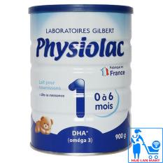 Sữa Bột Physiolac DHA 1 – Hộp 900g (Cho trẻ 0~6 tháng tuổi)