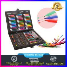 Set hộp bút màu 150 chi tiết cho bé thỏa sức sáng tạo