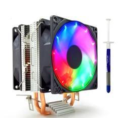 Tản Nhiệt Khí Snowman M200 Led RGB Dual Fan – Hỗ Trợ All CPU