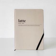 Sổ tay Crabit ruột Dotted khổ A5 – Coffeeine Latte