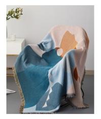 Thảm bọc Sofa sợi Cotton, thảm sàn phong cách hiện đại