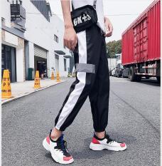 Quần Jogger Nỉ Thể Thao Nam Bo Ống Phối Sọc Màu Thời Trang FASHION4MEN JOGGER 9000011