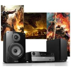 Dàn âm thanh Philips MCD122 chất lượng âm thanh cực đỉnh